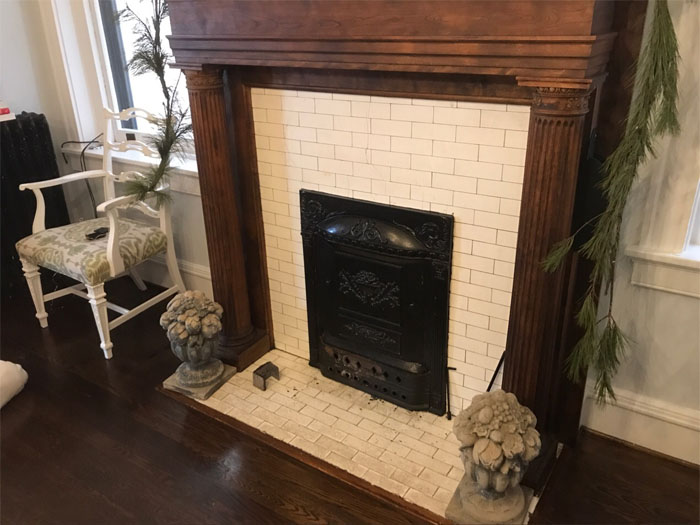 What Is A Fireplace Summer Cover Or Summer Door