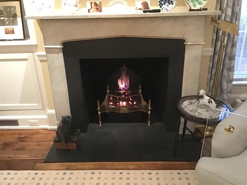 Gas Coal Fireplace Update