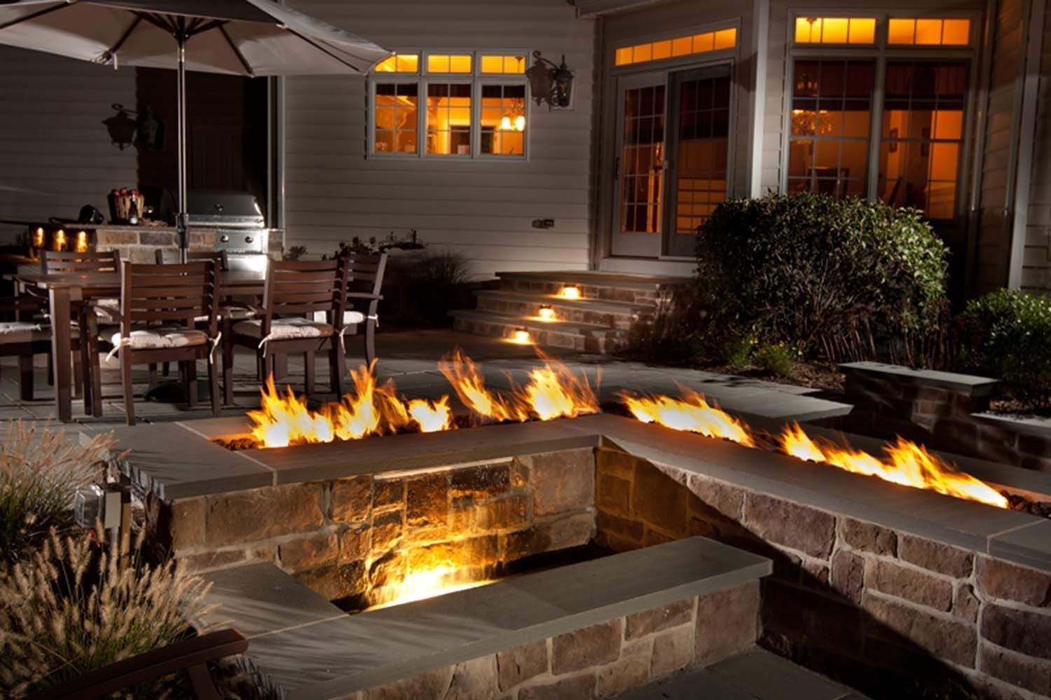 Design a Custom Gas Fire Pit