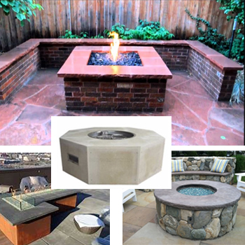 Kits for Custom Fire Pit Designs