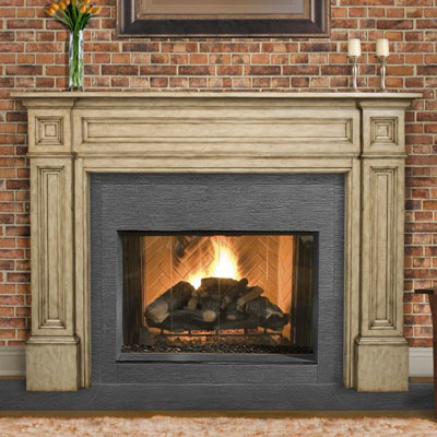 distinctive fireplace mantels