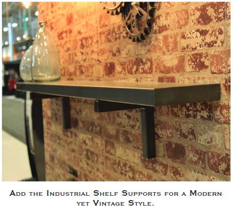 The Trend And Contemporary Metal Finishes Are Hot Today In Home Design But You May Have Found Choices Mantel Shelves To Be Somewhat