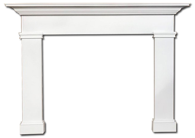 lancashire custom wood mantel