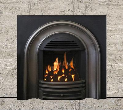 Paloma Gray Marble Fireplace Surround Kit