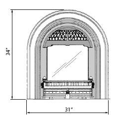 Arch dimensions