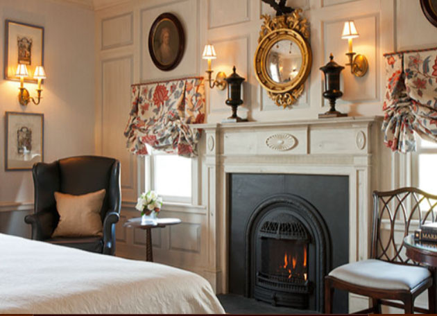 Windsor Small Victorian Style Gas Fireplace
