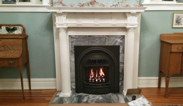 windsor insert marble surround