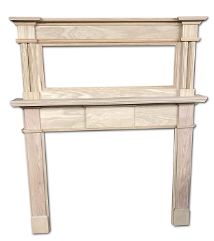 Alexandria Mantel - Stock or Custom