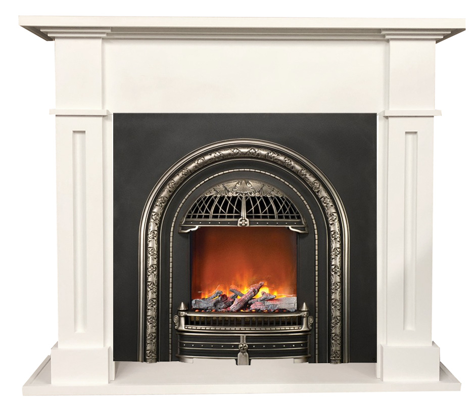 amber mantel with windsor electric