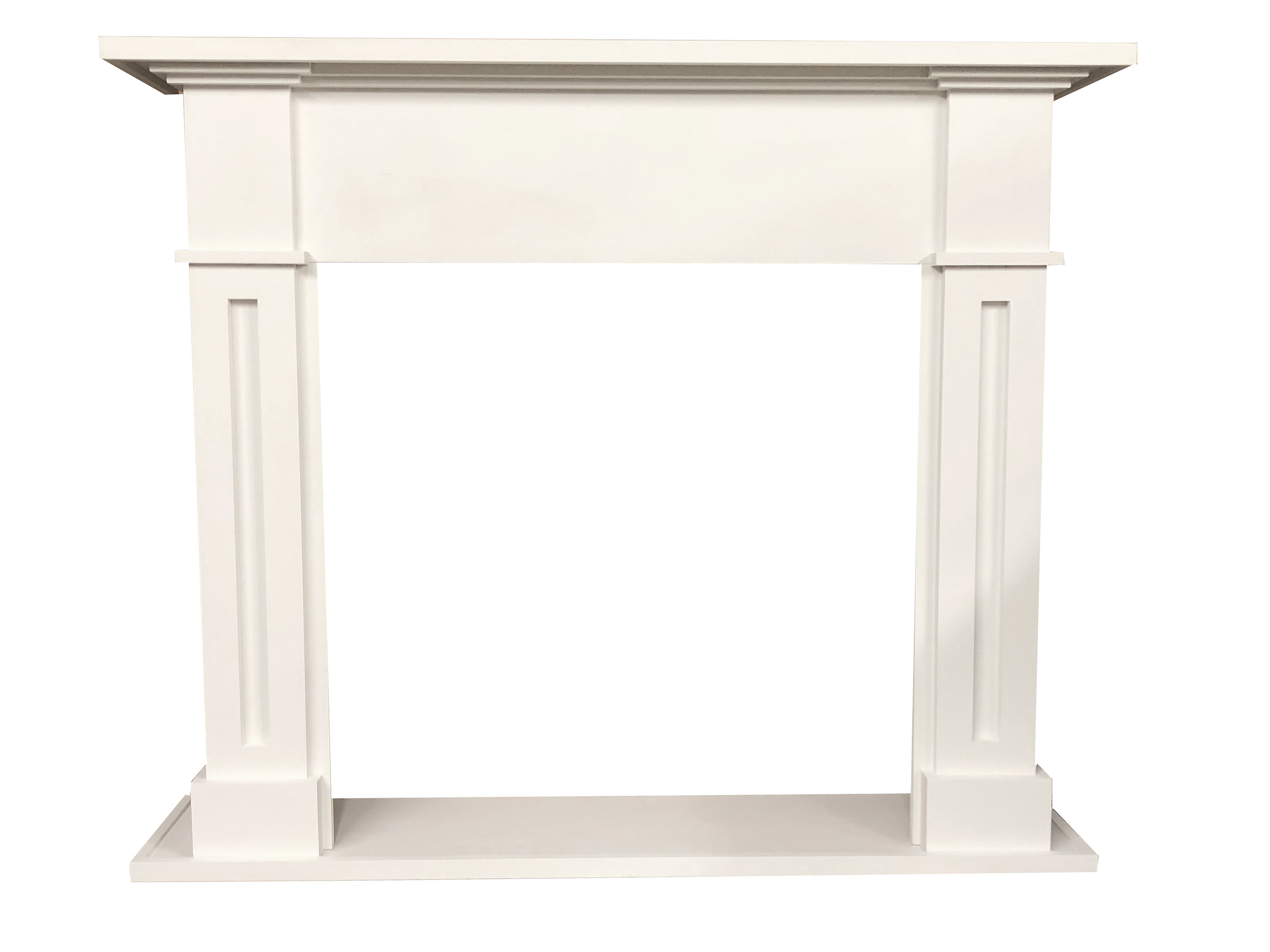 Amber Cabinet Mantel with Hearth