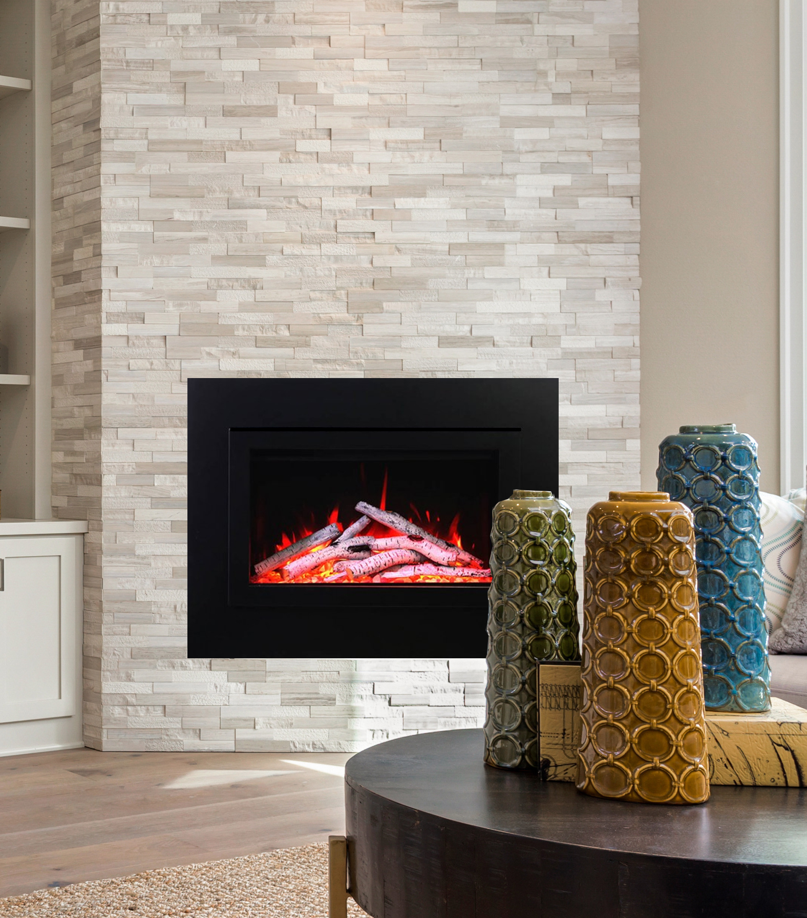 Belfair Electric Fireplace Insert - 30