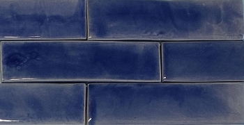 Cobalt Blue Fireplace Tiles - 2 Sizes