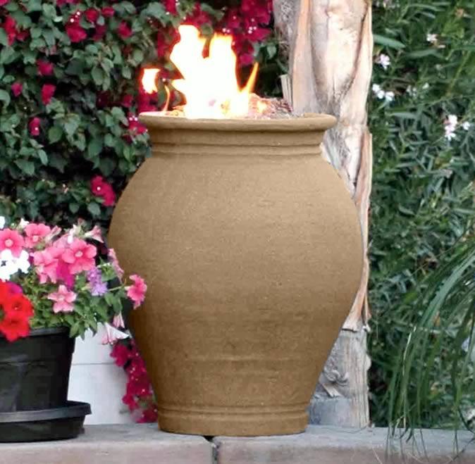Garden Fire Urn 4