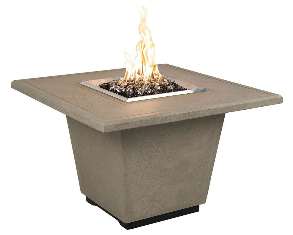COSMOPOLITAN  Dining Table with Built In Gas Fire Pit