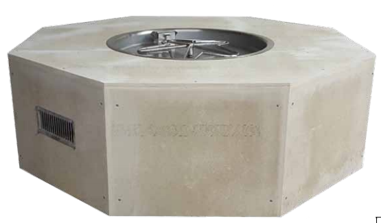OCTAVIA 8 Sided Fire Pit Enclosure Kits - 2 Sizes