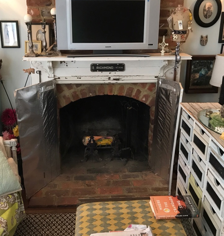 whats wrong with this fireplace