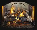 Reflective Gas Log Fireback