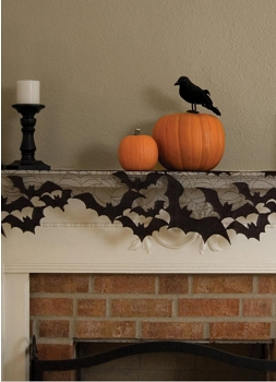 Batty Mantel Scarf