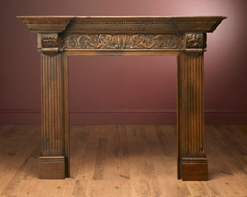 Calais Small Wood Mantel