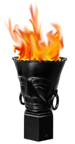 Polynesian Torch Gas Light