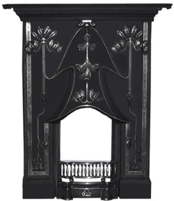 JOSEPHINE Cast Iron Mantel