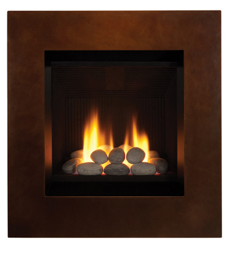 Ledge Wall Mount Gas Fireplace