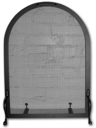 Tiny Arch Screen 19 W X 26 H Victorian Fireplace Shop