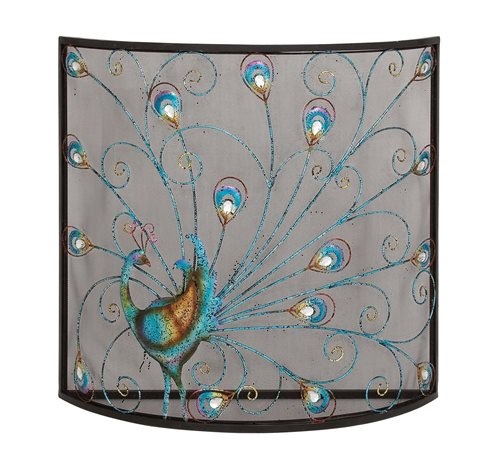 Peacock Screen  33W x 32H