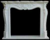 Paris Marble Mantel