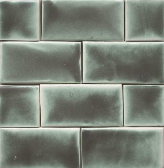 Victorian Fireplace Tiles - Patina - 2 Sizes