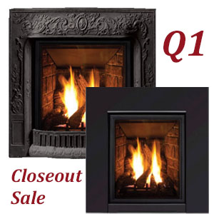 Q1 Modern Gas Insert - CLOSEOUT 2019 MODEL