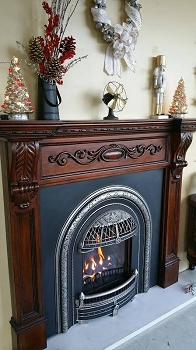 Windsor Gas Fireplace **STORE BURN MODEL**