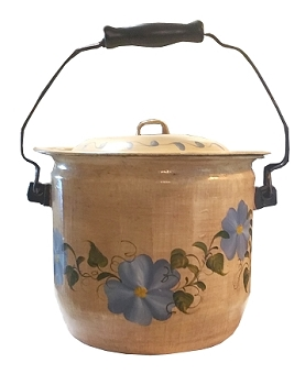 Vintage Hearth Bucket