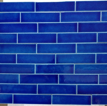 Admiral Blue Quarter Tiles - Import