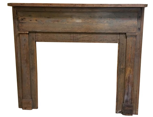Antique Rustic Timber Mantel
