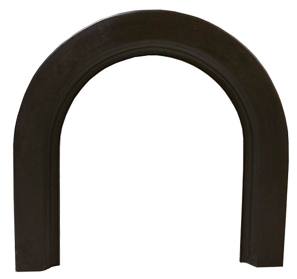 Arched Antique Cast Iron Surround