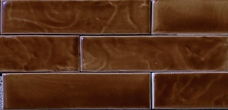 Chocolate Brown Fireplace Tiles  - 2 Sizes