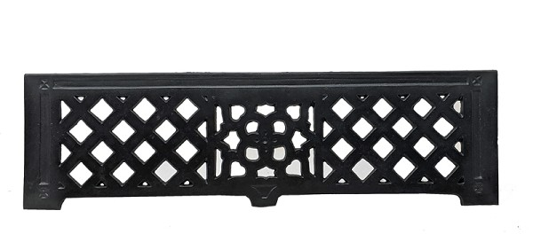 Cast Iron Fireplace Fret