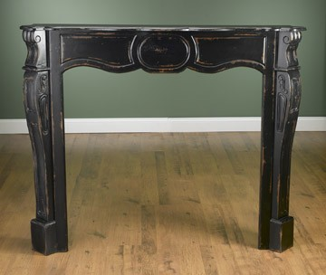 Bordeaux Small Wood Mantel