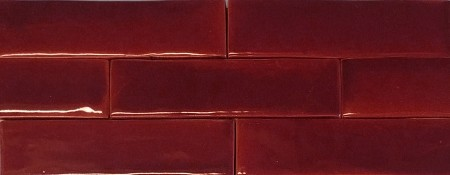 Oxblood Gloss Fireplace Tile - 2 Sizes