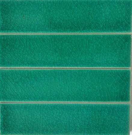 Persian Green Quarter Tiles - Import