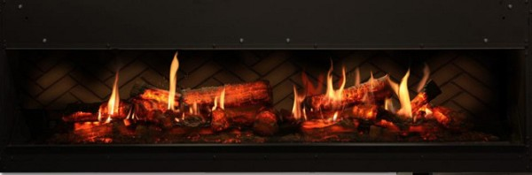 Opti V Duet Built-in Electric Fireplace