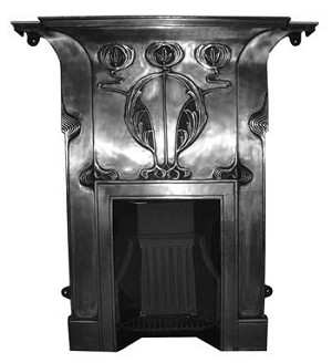 Dupre Cast Iron Combination Mantel