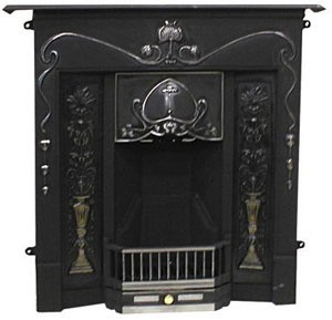 Tulip Cast Iron Mantel