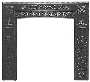 TORCH Cast Iron Fireplace Surround