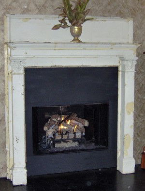 "Antique """"Diablo"""" Mantel"