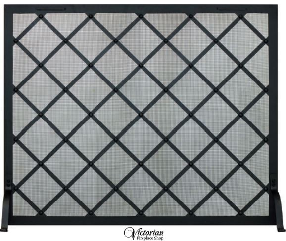 Courtyard Fireplace Screen 2 sizes