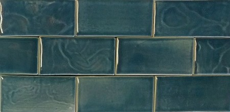 Ultramarine Gloss Fireplace Tiles - 2 Sizes